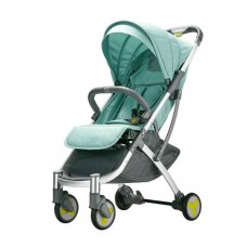Детская коляска трансформер Xiaomi BEBEHOO START Lightweight Four-wheeled Stroller (Green)